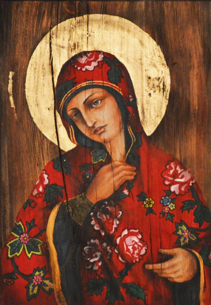 """B.Fiodorowicz, """"Kwietna Madonna"""""""