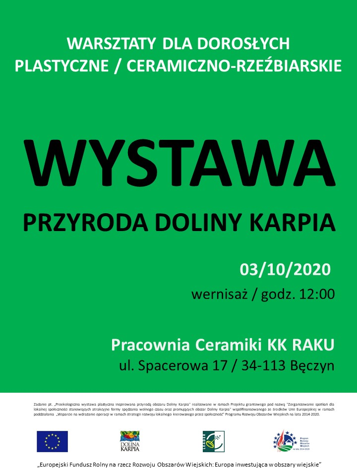 Plakat_Wystawa_Warsztaty_plastyczne_Przyroda_2020